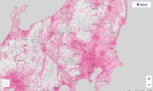 楽天モバイル 電波状況 地図