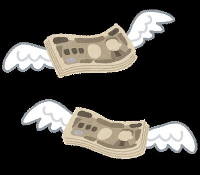 お金 飛ぶ 無駄