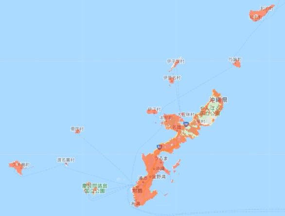 ユー キュー モバイル 沖縄